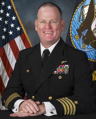 Capt. Markus J. Gudmundsson, USN