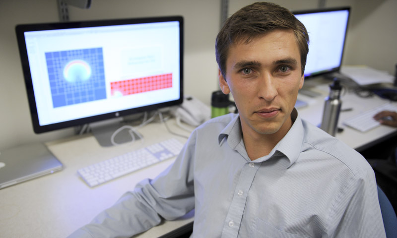 NPS Postdoctoral Fellow Michal Kopera serves in the applied mathematics department, after receiving his Ph.D. in Engineering from the University of Warwick, U.K. His research explores adaptive mesh refinement techniques for non-hydrostatic unified models of the atmosphere.