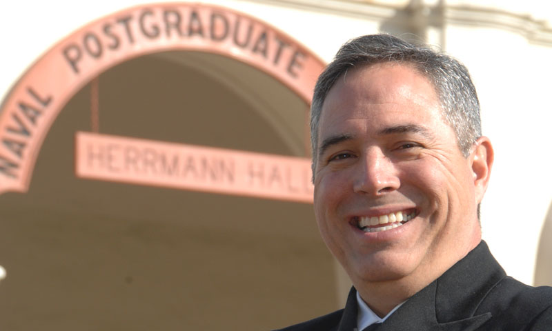 Navy Capt. Bryan S. Lopez, Executive Officer at Space and Naval Warfare Systems Center Pacific, was one of this quarter's more senior graduates, receiving an Executive Master of Business Administration degree. It was actually his second degree from NPS, Lopez graduated a decade prior as a Lt. from the Electrical Engineering curriculum.