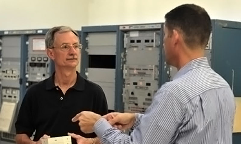 PEO Space Systems Chair Supports Navy's Efforts in the Final Frontier