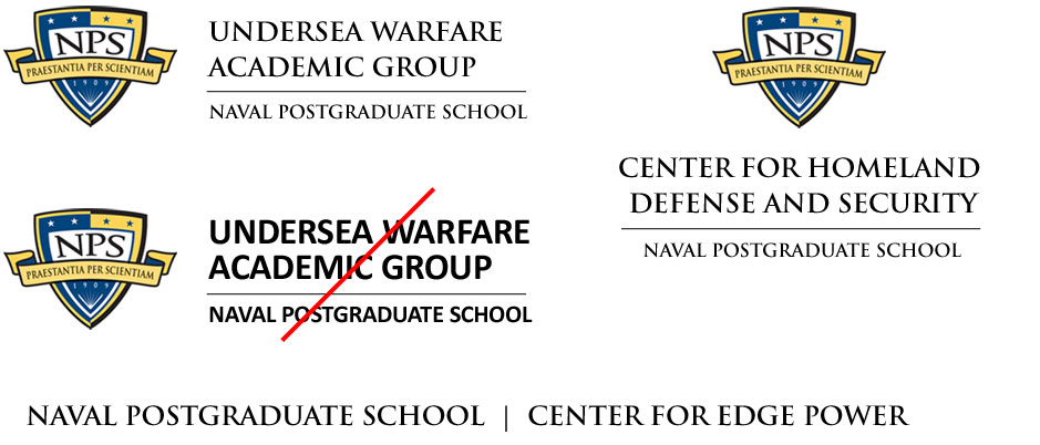 Approved formats for centers, groups, institutes