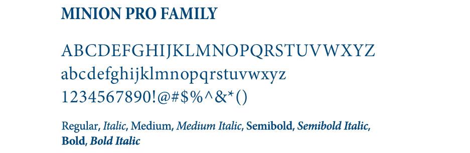 Minion Pro Family Image