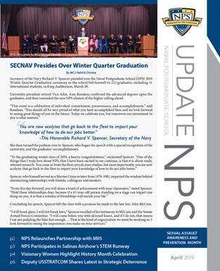 Update NPS - Naval Postgraduate School
