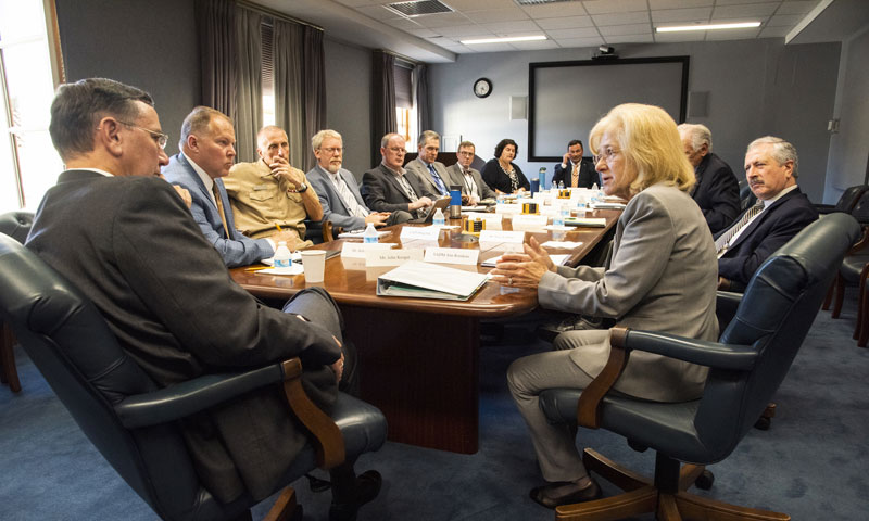 Navy's Chief Learning Officer Gets to Know NPS Image Three