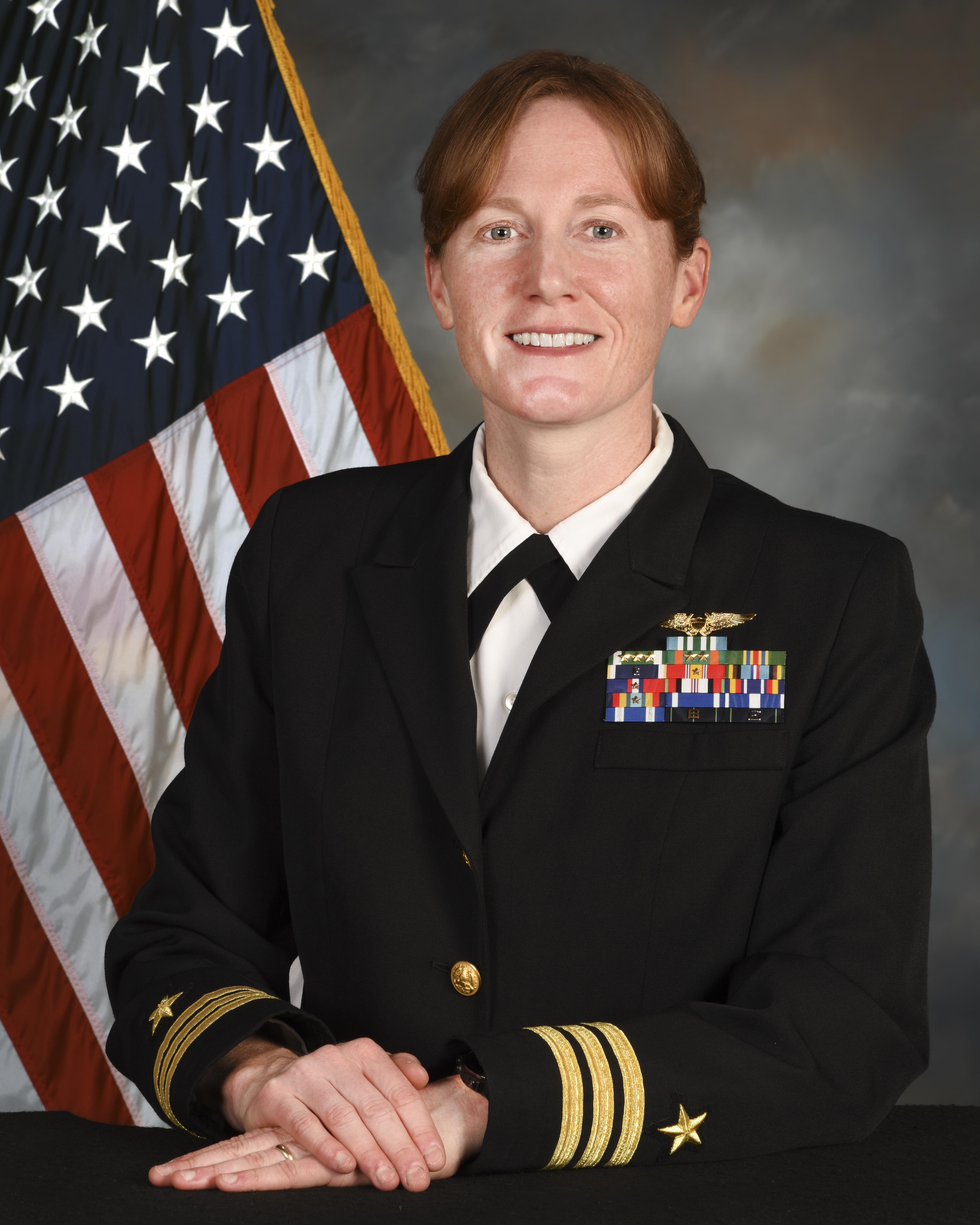 Kathleen Giles, CDR, USN