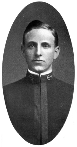 Photo of Ensign Guy K. Calhoun