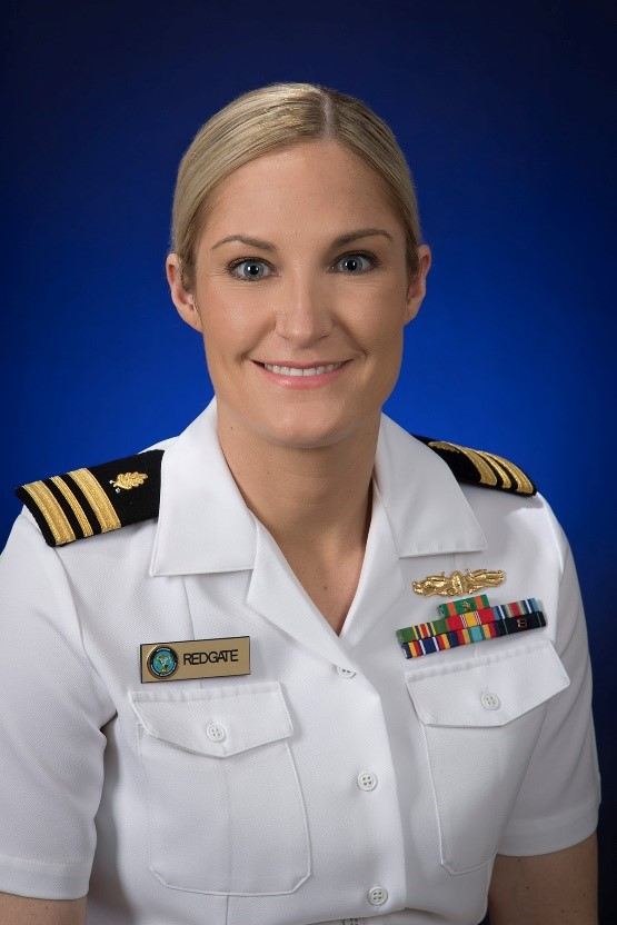LCDR Jenna Redgate