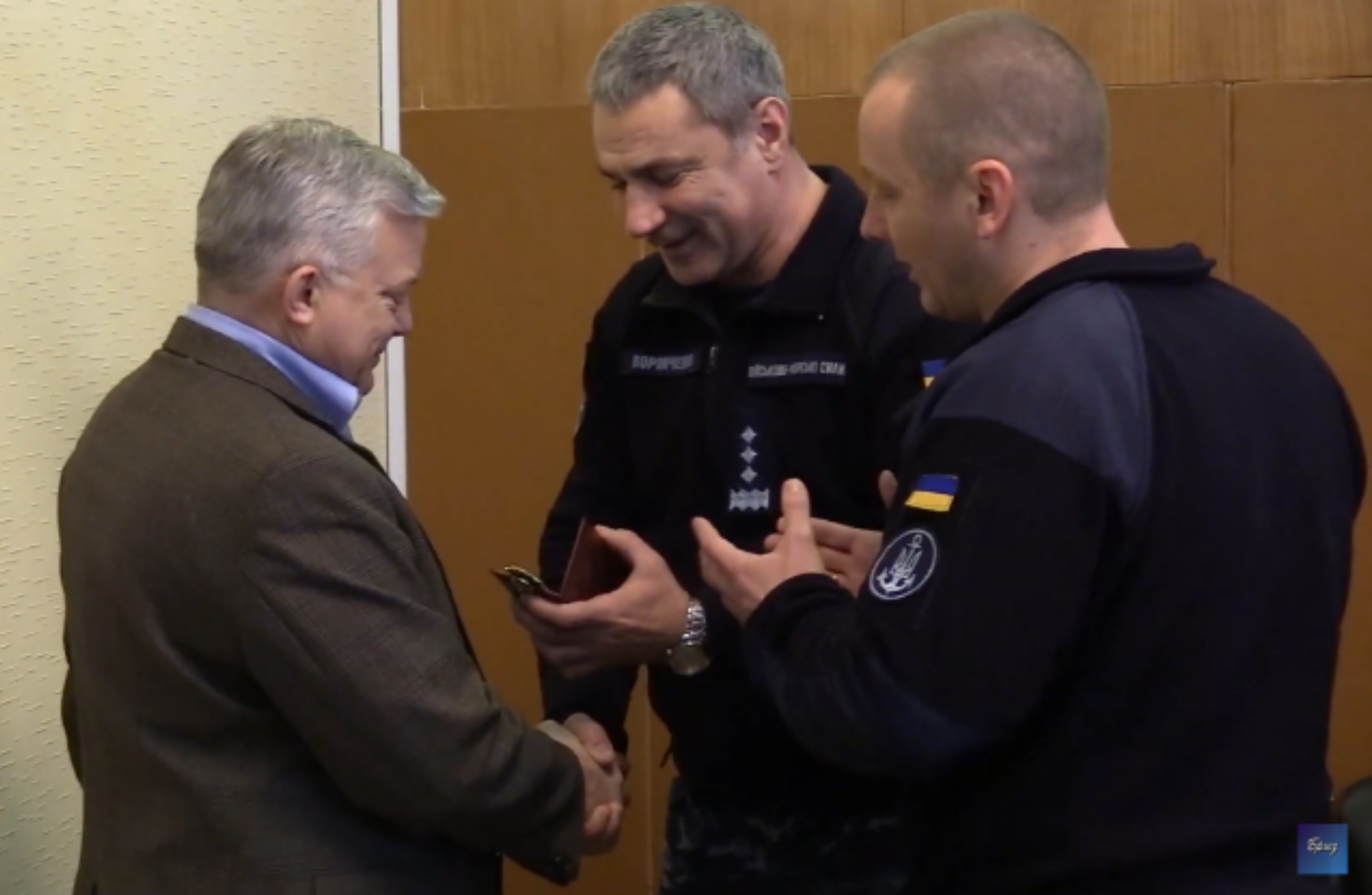 DGMT receives award from Ukrainian Admiral