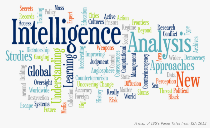 Word cloud from ISA 2013