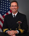 Rear Adm. David J. Hahn Portrait