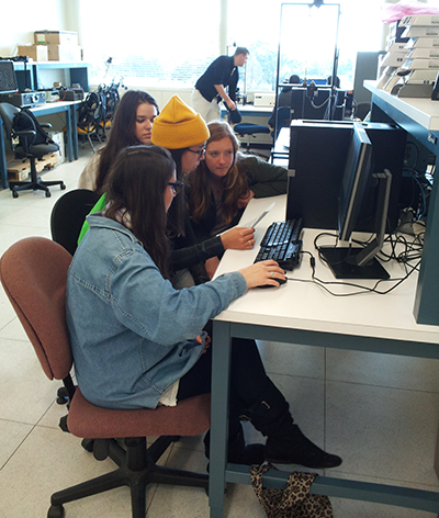 Monterey Academy of Oceanographic Science Students Explore NPS Labs, Facilities