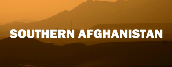 Southern Afghanistan letter image