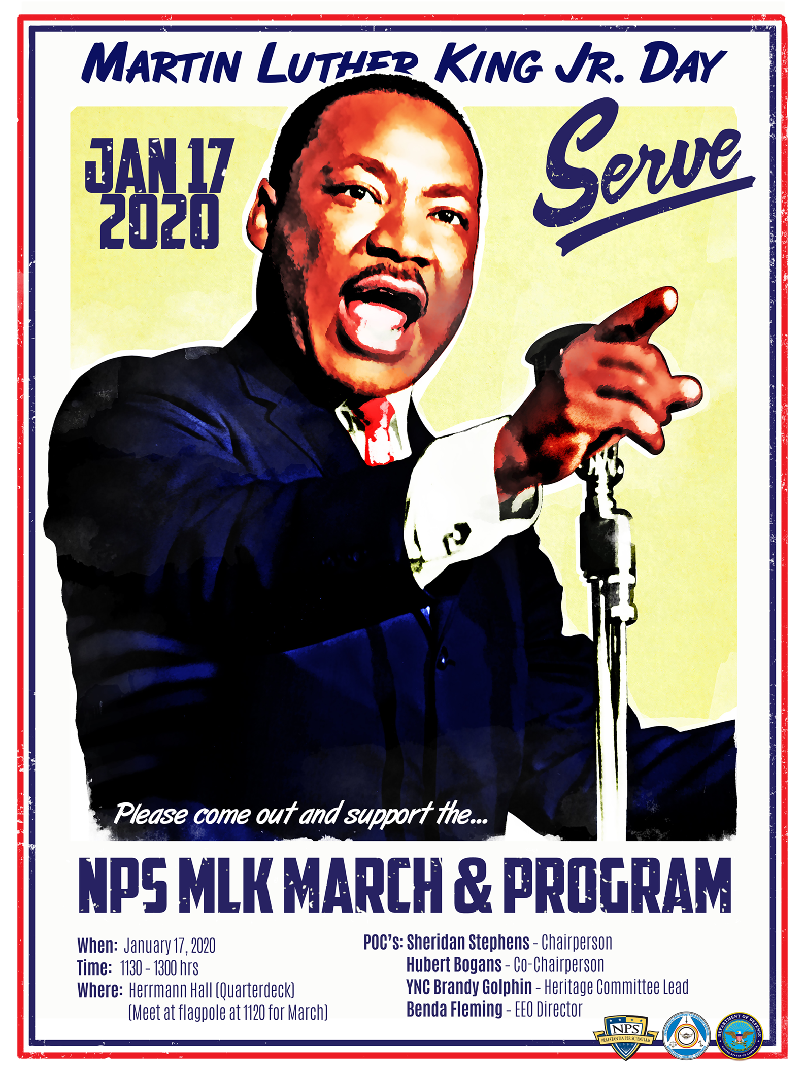 Martin Luther King Jr. Day - January 17, 2020