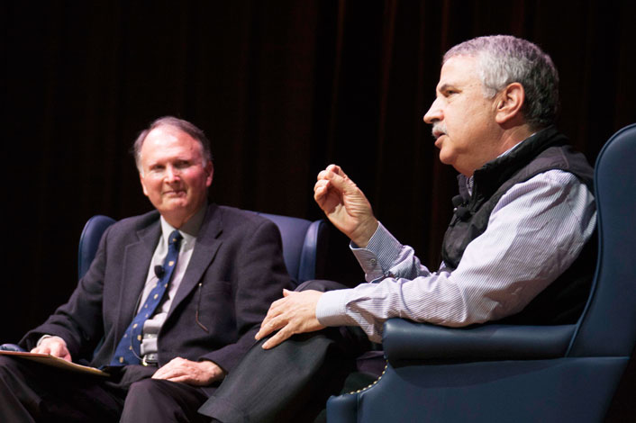 Converstaion with Tom Friedman