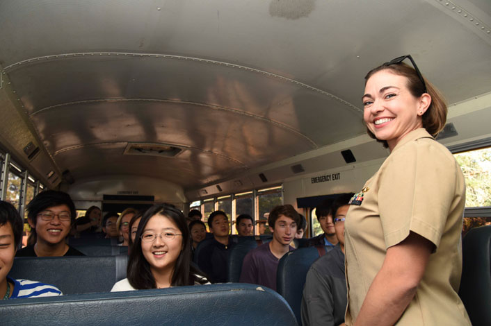 Discover NPS Day 2019 Bus Arrival