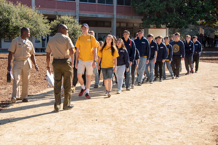 Discover NPS Day 2019 - ROTC