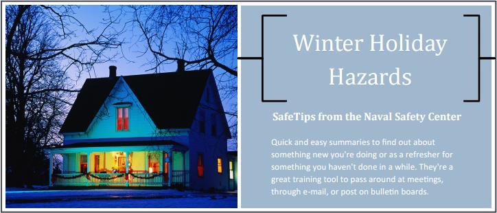 Winter Holiday Hazards