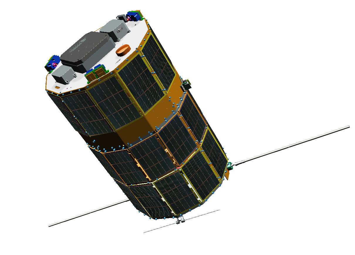 NPSAT-1 CAD Render
