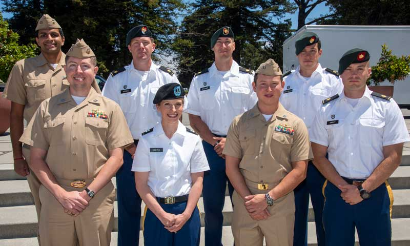 Naval War College Monterey Honors Top JPME Graduates