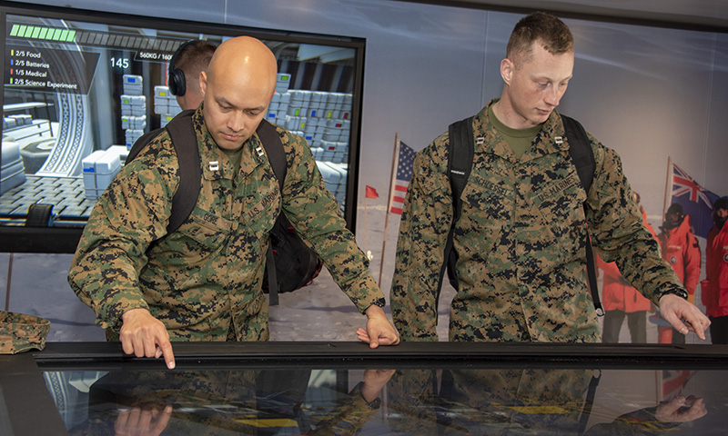 Leidos LIVE Immersive Technology Lab makes first national stop at NPS