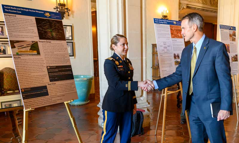USSOCOM Commander Explores NPS with Emphasis on Innovation and Industry Partnerships