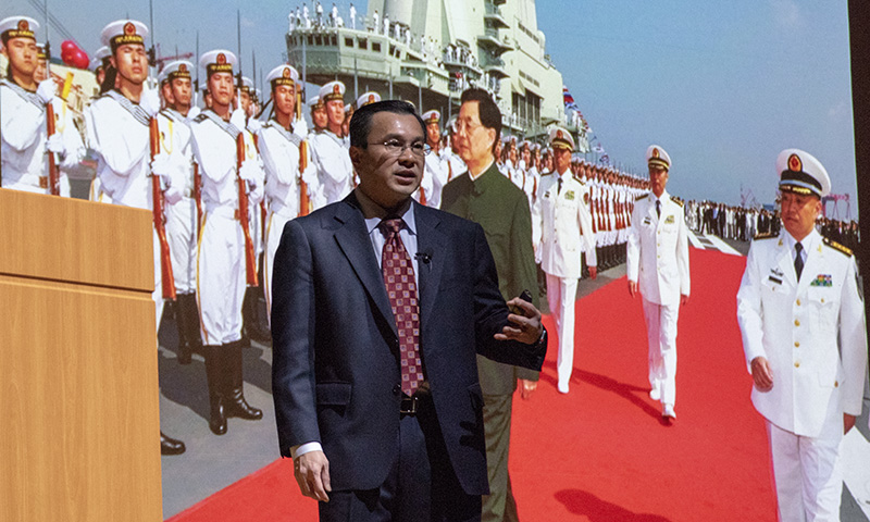 East Asia expert Yoshihara analyzes Chinese sea power during latest SGL