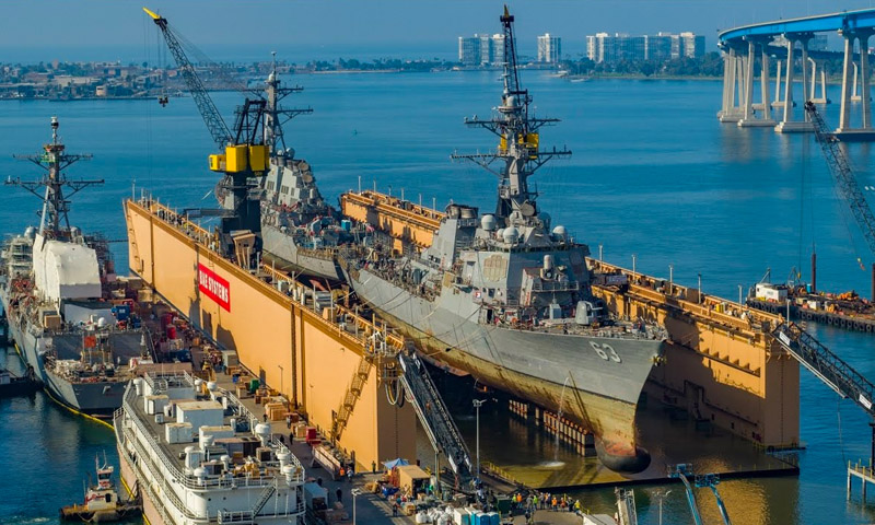 NPS Professor Receives Mills Medal for Optimizing Surface Ship Drydock Schedules