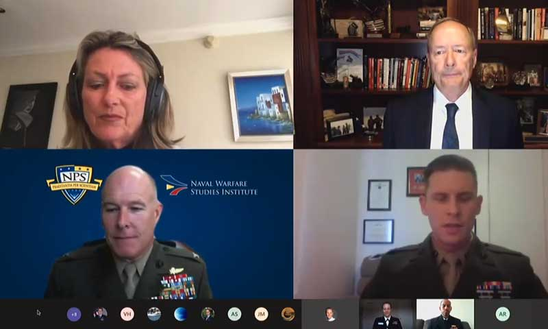 Hall of Fame NPS Grads Alexander, Tighe Talk Benefits and Challenges of 5G