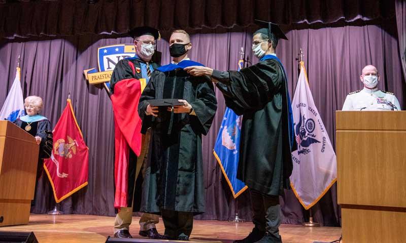 SECNAV, Fleet Leaders Praise Summer Quarter Grads