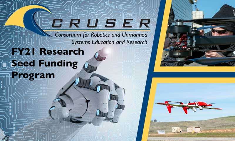 Future Advantage: CRUSER Funds FY21 Robotics and Autonomous Systems Research