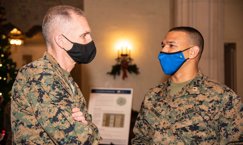 Marine Corps Assistant Commandant Explores Emerging Concepts, Capabilities at NPS