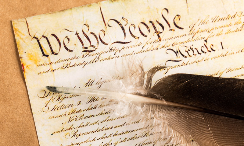 We The People U.S. Constitution Image