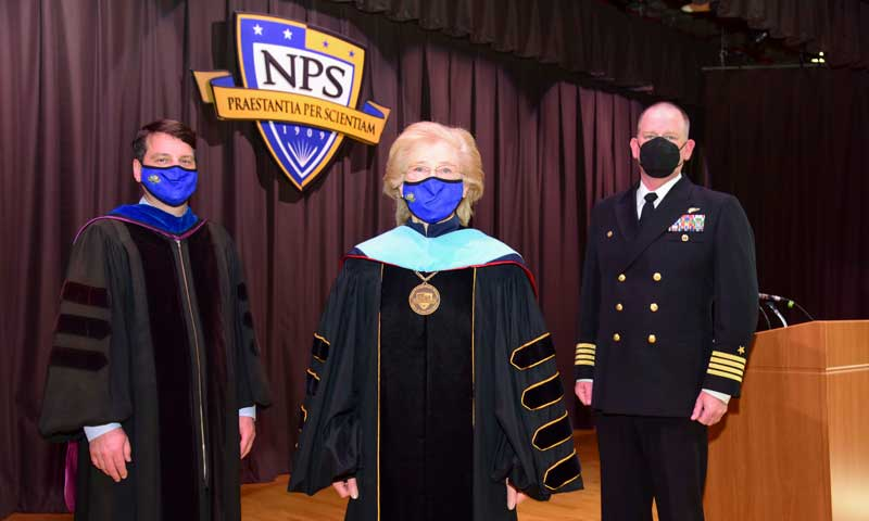 Navy, NPS Leaders Congratulate Winter Quarter Grads, Virtually