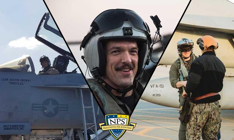 NPS Aviation Community Graduates Set to Take Command