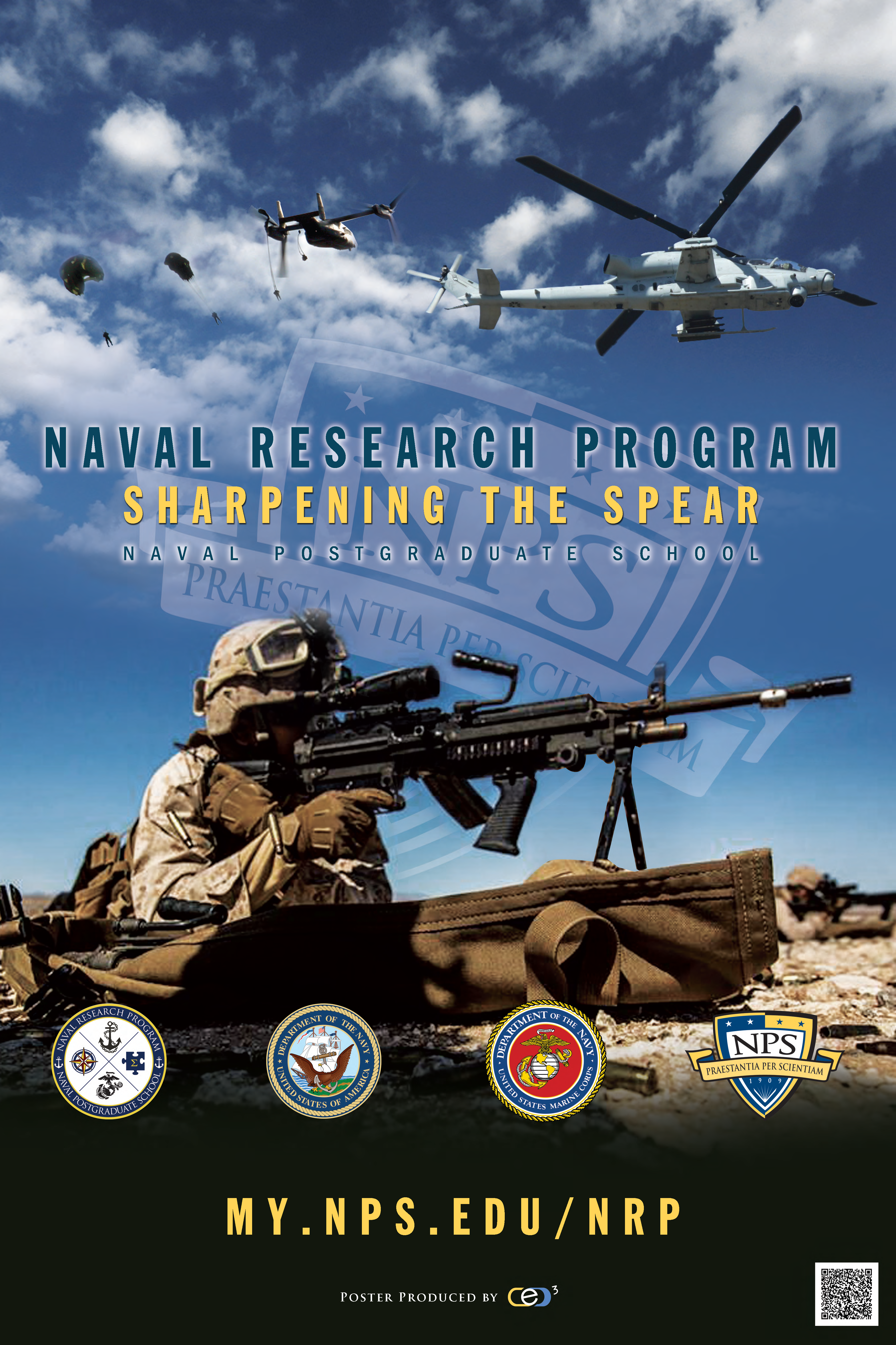 Marine Centric NRP Marketing Poster
