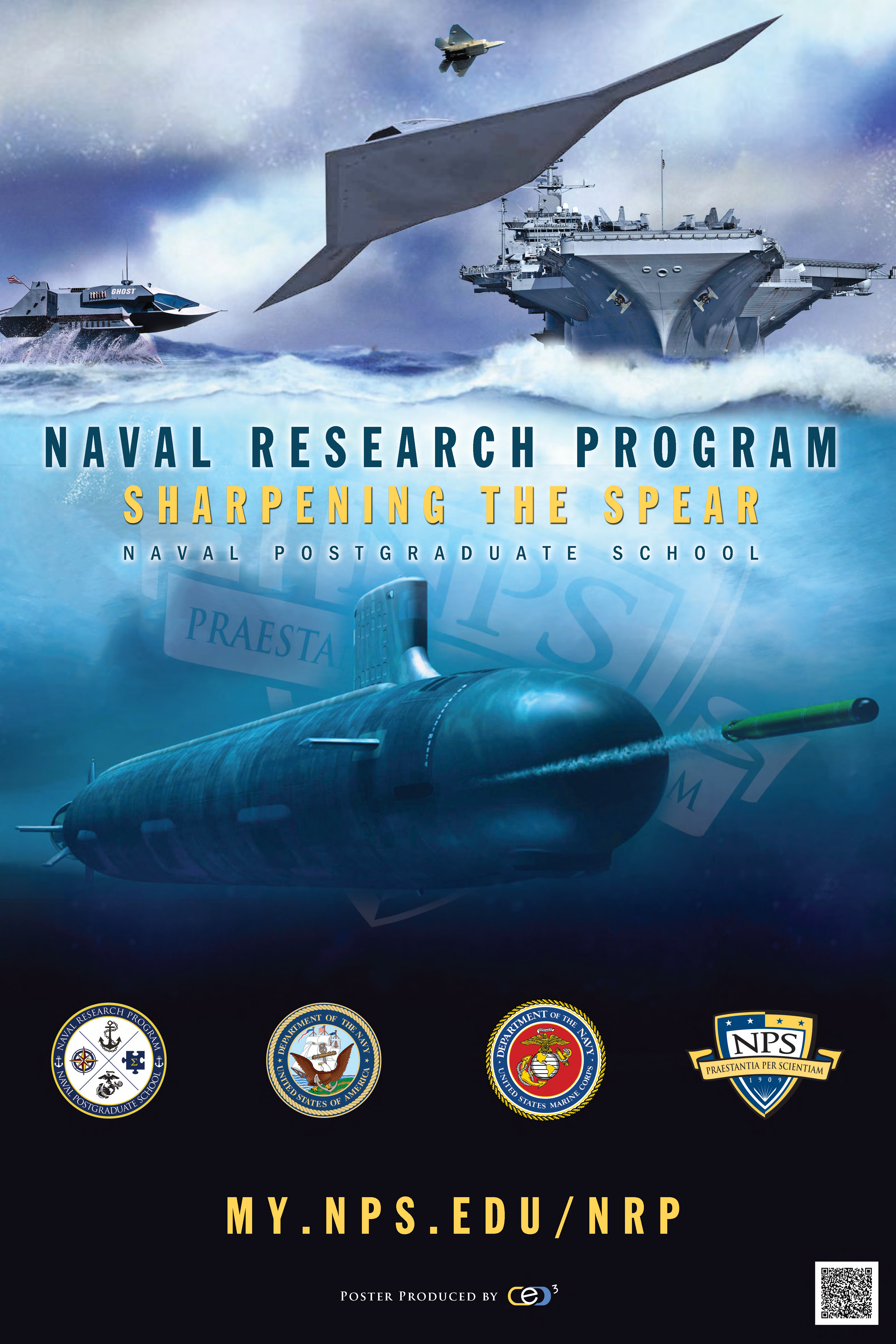 Navy Centric NRP Marketing Poster