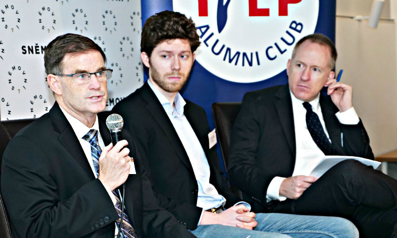 NSA Professor Jasper Spoke at Three Cyber Forums in Prague